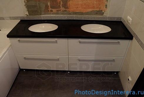 Качественная мебель для ванной на заказ