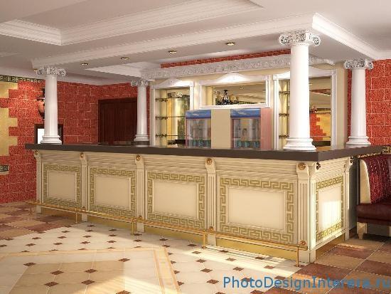Фотографии барной стойки в гостиной фото