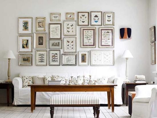 Белые стены в интерьере: фото