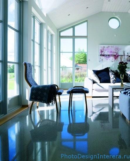 Современные бетонные полы