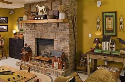 Декор в стиле кантри в интерьере кухни, гостиной, спальни: фото
