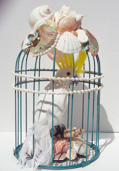 Декоративная клетка для птиц в интерьере: романтичный аксессуар для вашего дома
