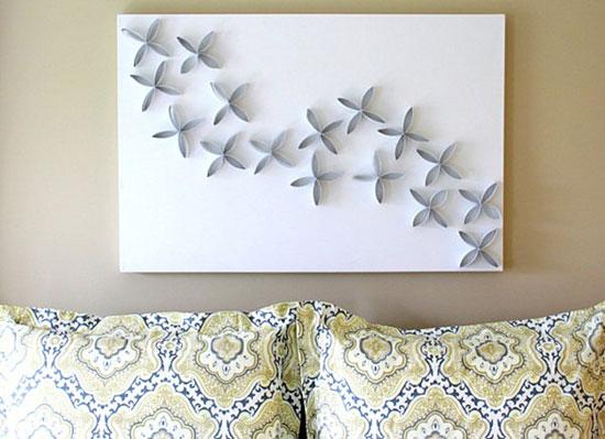 Декорирование стен своими руками: как оформить пустую стену