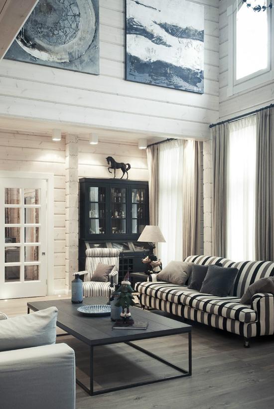 Деревянный дом: идеи для интерьера
