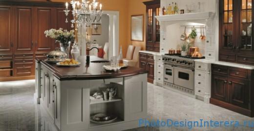Дизайн интерьера и фотографии современных кухней