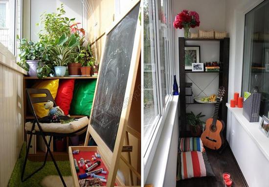 Детская комната с балконом: особенности дизайна