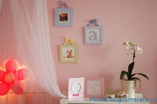 Как красиво украсить детскую комнату?