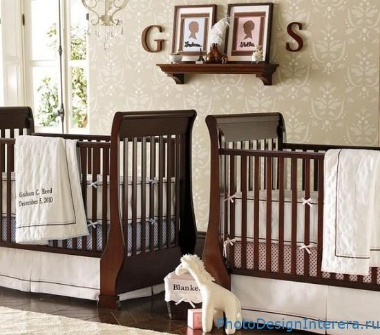 Как красиво украсить детскую комнату фото?