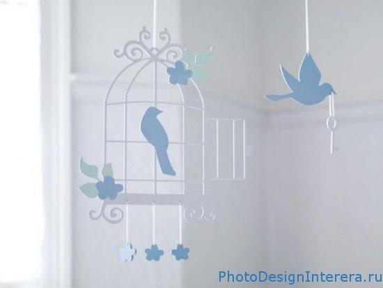 Украшение детской комнатки фото