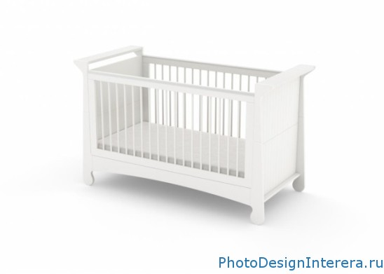 Как выбрать красивую детскую кроватку?