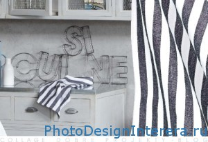 Дизайн интерьера кухни с буквами фото