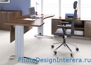 Дизайн комфортного домашнего офиса фото