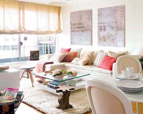 Дизайн квадратной гостиной: фото