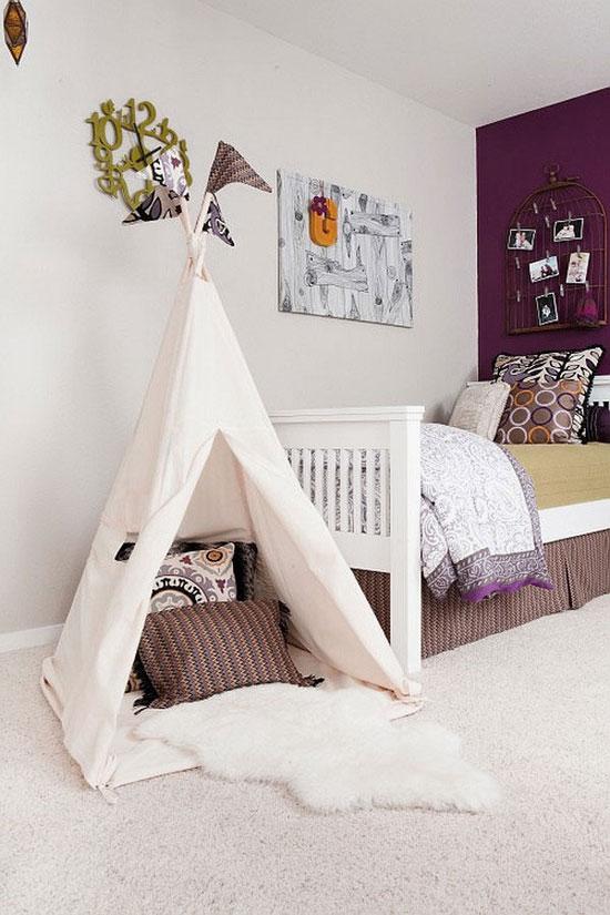 Дизайн маленькой детской комнаты: фото