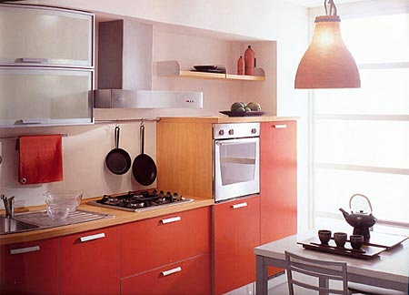 Дизайн узкой кухни (фото)
