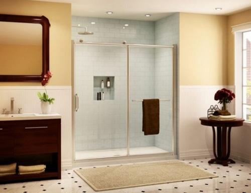 Дизайн ванной комнаты с душевой кабиной: совмещаем функциональность и стиль