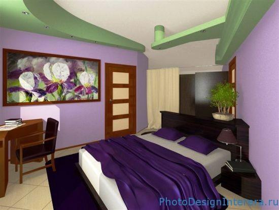 Дизайн интерьера и проект спальни фотографии