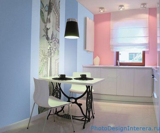 Стильный дизайн интерьера кухни фото