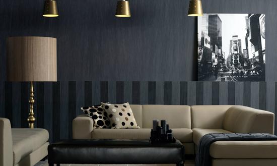 Драпировка стен тканью своими руками:  фото