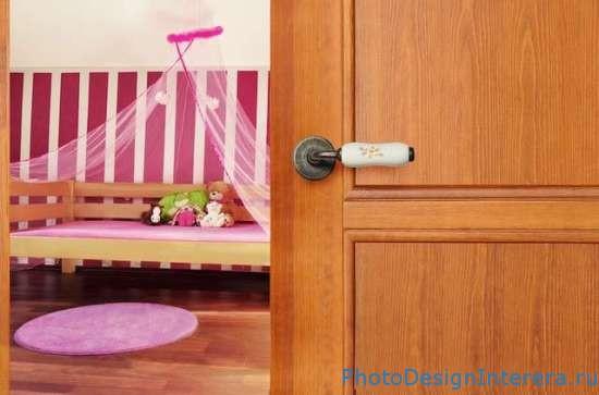 Какие двери купить в детскую комнату?