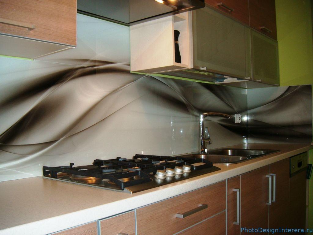 Стильные фартуки для кухни из фото стекла