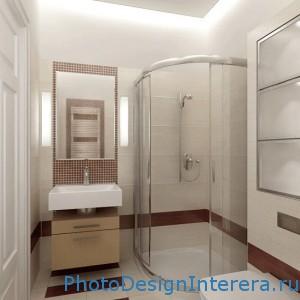 Дизайн интерьера маленьких ванных комнат фото