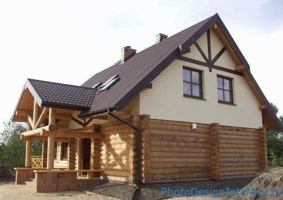 Возведение и интерьер домов из профилированного бруса