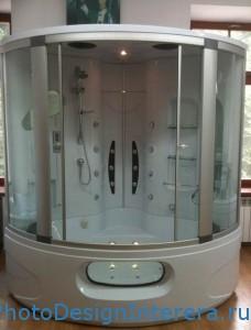 Душевая кабина и гидробокс в ванной