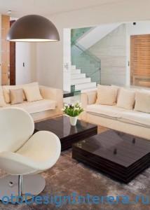 Современный дизайн интерьера гостиной фото