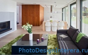 Красивая и стильная гостиная фото