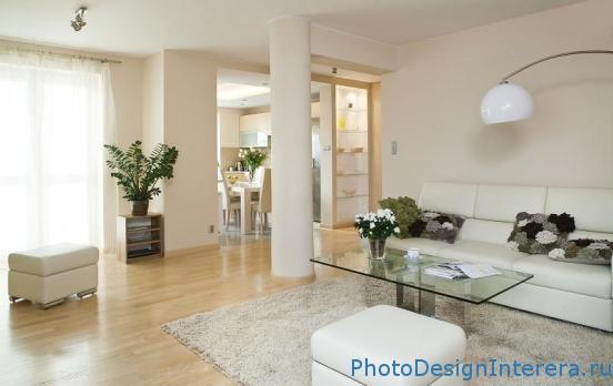 Элегантный дизайн интерьера гостиной фото