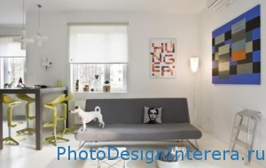 Сочетание цветов в гостиной фото