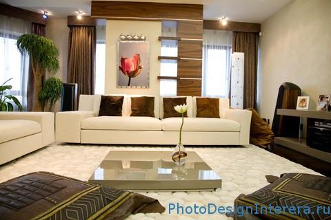 Дизайн интерьера гостиной фото