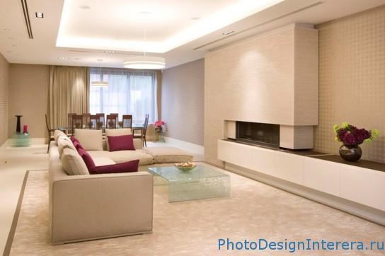 Дизайн интерьера и фотографии гостиной с мебелью