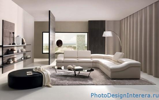 Элегантный дизайн интерьера в гостиной фото