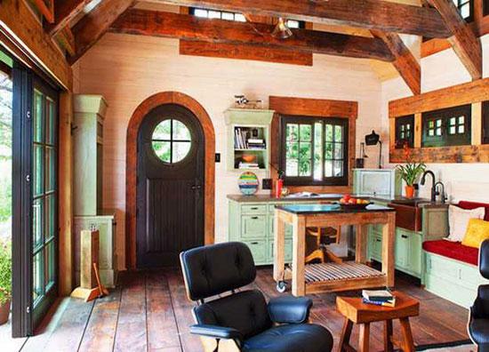Интерьер дачного домика в стиле кантри: советы по дизайну