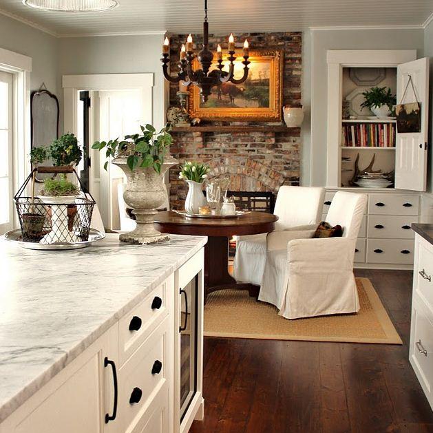 Интерьер кухни в стиле кантри: фото, рекомендации