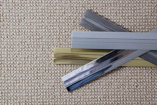 Как красиво оформить стык плитки и ламината: возможные варианты