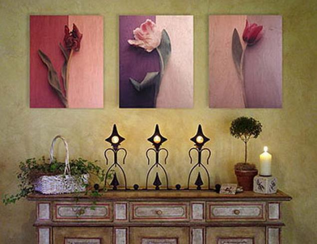 Картины в интерьере: фото, примеры, рекомендации