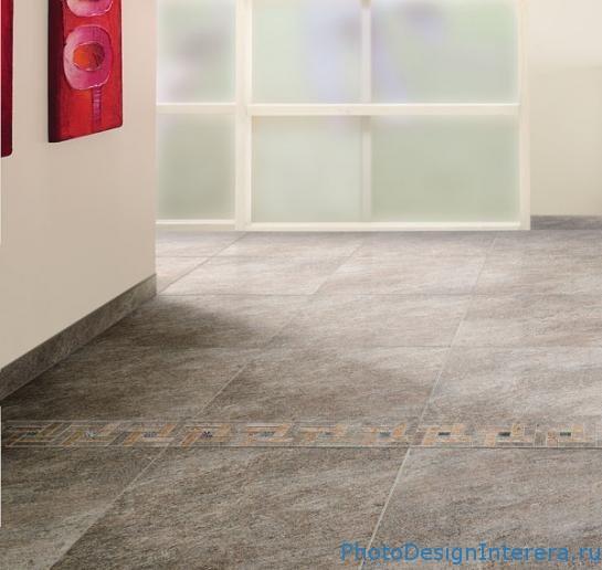 Керамическая плитка в интерьере жилого помещения