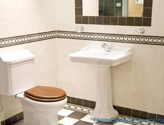 Дизайн интерьера кафеля в ванной комнате фото