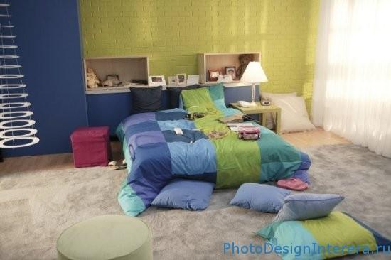 Дизайн интерьера детской комнаты для подростка фото