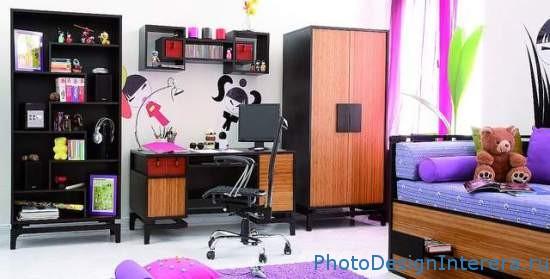 Дизайн интерьера детской комнаты для подростка мальчика фото