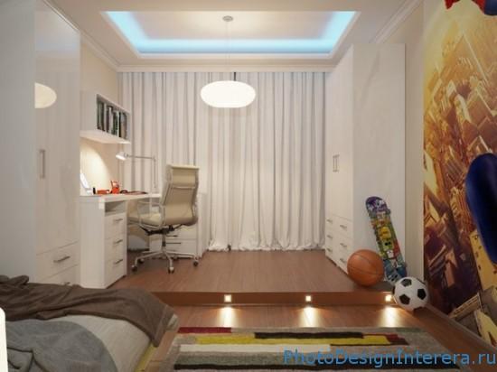 Тематический интерьер комнаты для мальчика