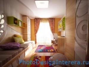 Дизайн интерьера и украшение детской комнаты фото
