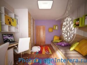 Как оборудовать и украсить детскую комнату? фото