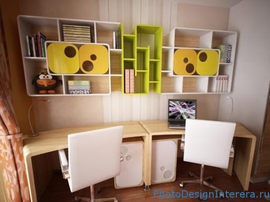 Как выбрать компьютерный стол и стул в комнату для ребенка? фото