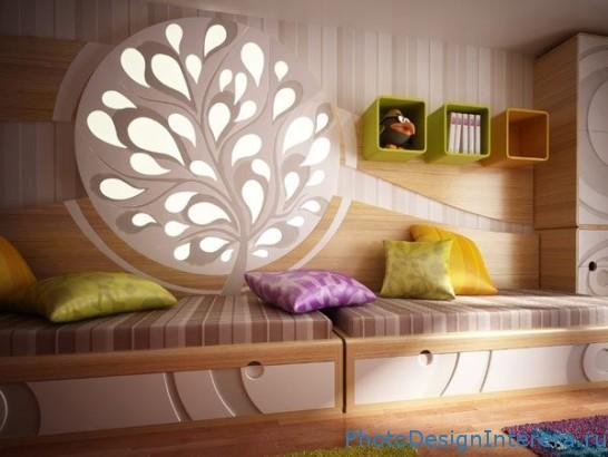Интерьер и украшение комнаты для ребенка фото