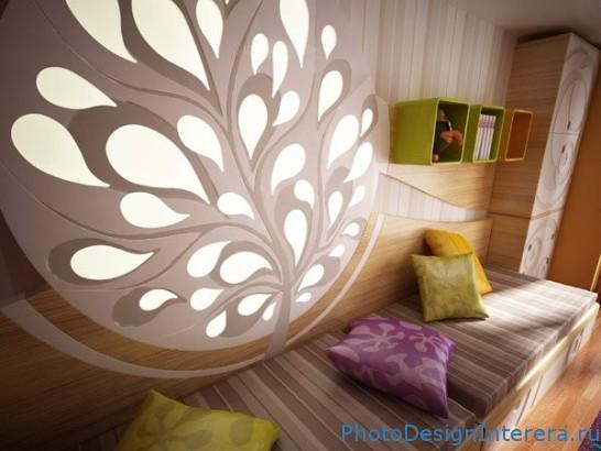 Комната для ребенка. Дизайн интерьера фото.