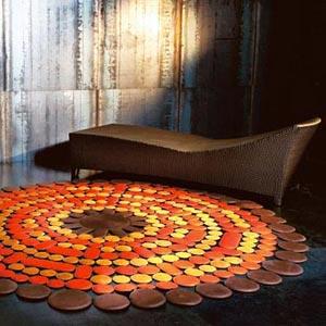 Ковер в интерьере: декоративные возможности